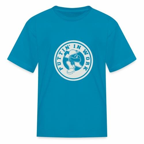 P.I.W White Logo - Kids' T-Shirt