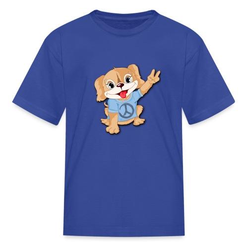 Peace Puppy - Kids' T-Shirt