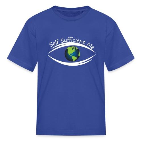 Self Sufficient Me Logo Large - Kids' T-Shirt