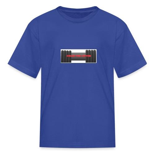 colin the lifter - Kids' T-Shirt