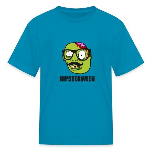 Hipsterween Zombie - Kids' T-Shirt