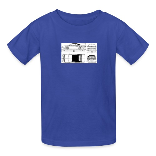 artists rendering - Kids' T-Shirt