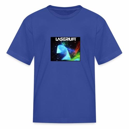 LASERIUM Laser spiral - Kids' T-Shirt