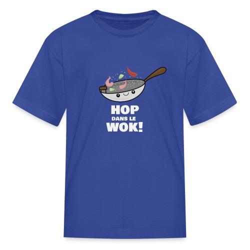 Logo Hop dans le Wok - T-shirt classique pour enfants