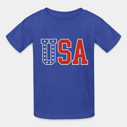 usa united states america - Kids' T-Shirt