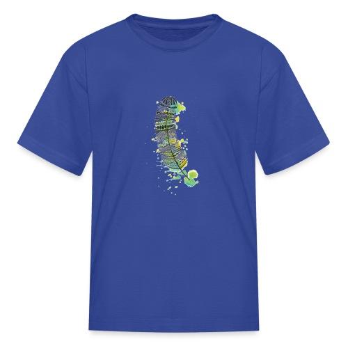 Geometric Feather - Kids' T-Shirt