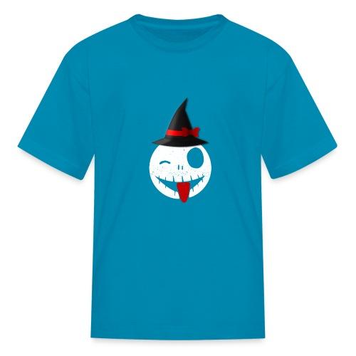 Halloween Emoticon - Kids' T-Shirt