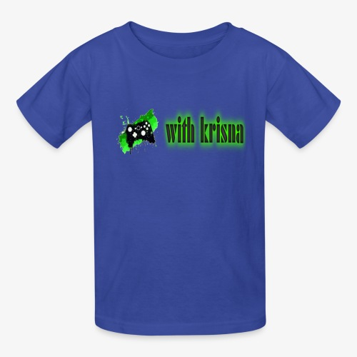 gaming with krisna merch - Kids' T-Shirt
