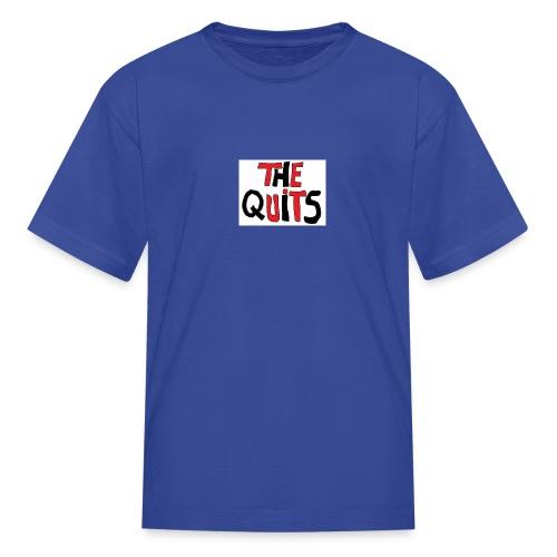 quits logo - Kids' T-Shirt