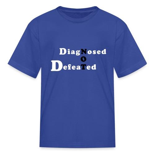 not defeatednourl - Kids' T-Shirt