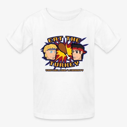 Eat the Turkey - Kids' T-Shirt