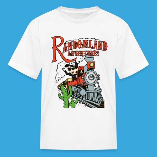 Randomland Railroad - Kids' T-Shirt