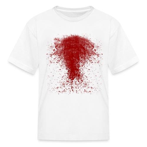 bloody shirt long trns - Kids' T-Shirt