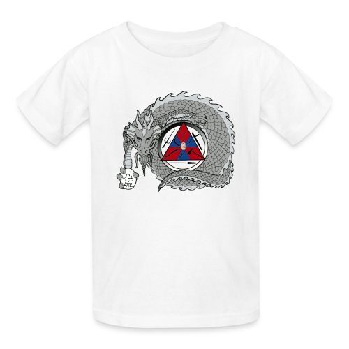 dragon 2 color for web - Kids' T-Shirt