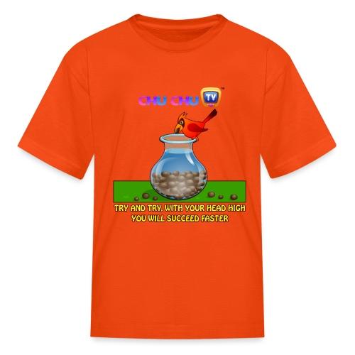 Motivational Slogan 11 - Kids' T-Shirt