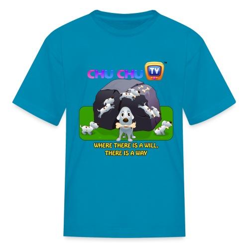 Motivation Slogan 9 - Kids' T-Shirt