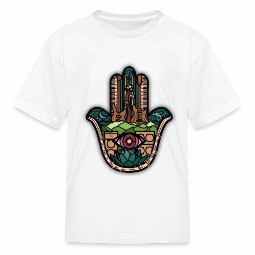Hatti's Hamsa V2 - Kids' T-Shirt