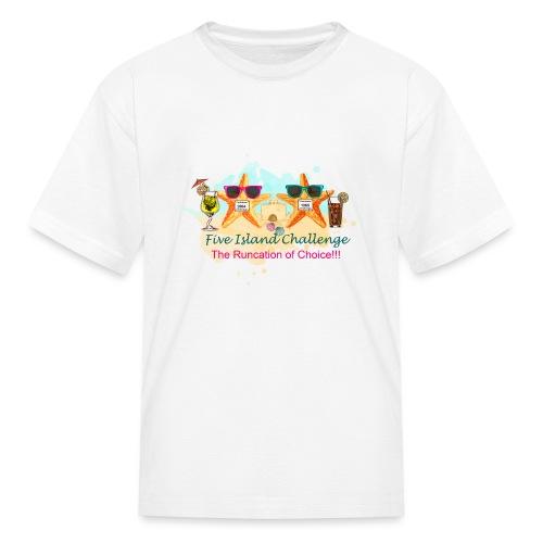 Five Island Challenge - Kids' T-Shirt