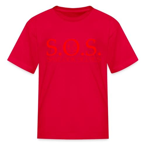 sos red - Kids' T-Shirt