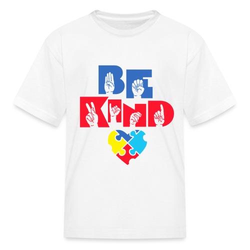 Be Kind - Kids' T-Shirt