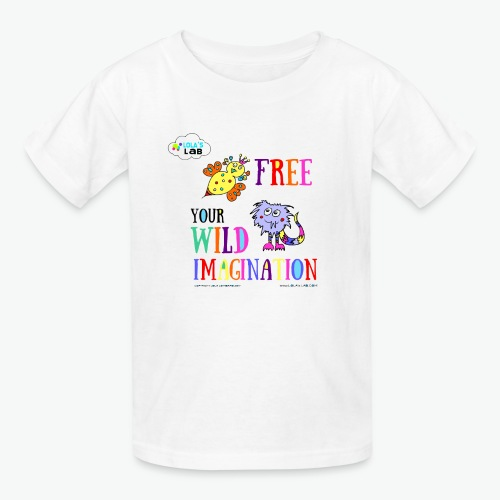 LOLAS LAB FREE YOUR WILD IMAGINATION TEE - Kids' T-Shirt