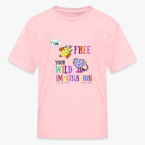 LOLAS LAB FREE YOUR WILD IMAGINATION TEE - Kids' T-Shirt