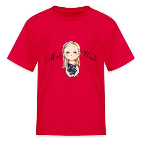 Mallory Chibi png - Kids' T-Shirt