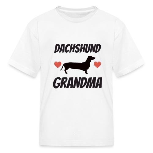 Dachshund Grandma - Kids' T-Shirt
