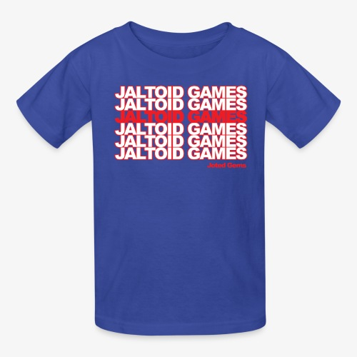 Jaltoid Games Novelty Red - Kids' T-Shirt