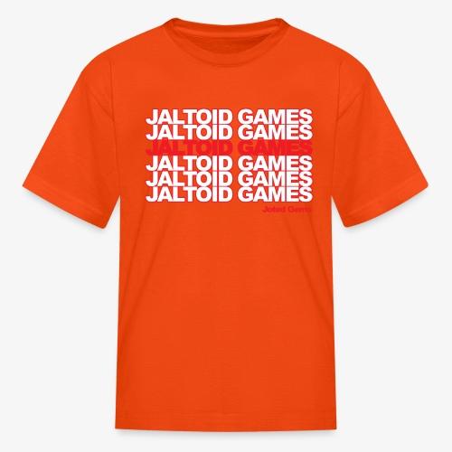 Jaltoid Games Novelty Red - Kids' T-Shirt