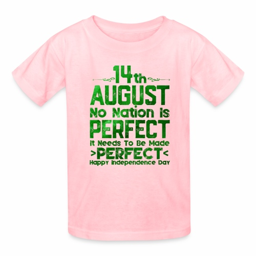 14th August Independence Day - Kids' T-Shirt