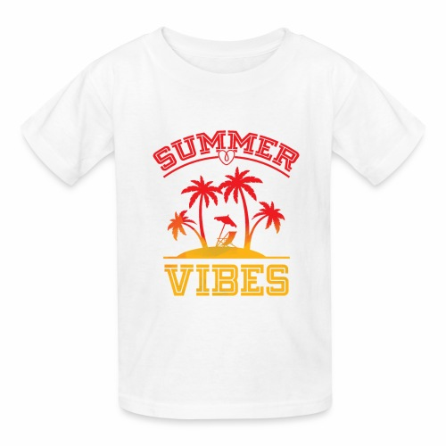 Summer Vibes - Kids' T-Shirt