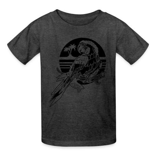 Tropical Parrot - Kids' T-Shirt