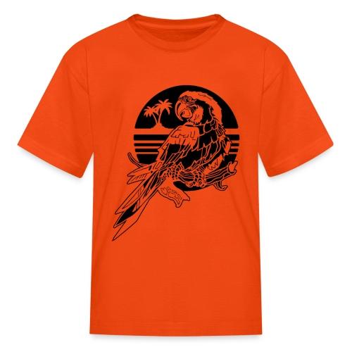 Tropical Parrot - Kids' T-Shirt
