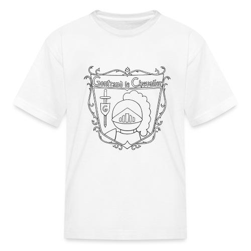 Gontrand à Colorier - T-shirt classique pour enfants