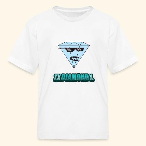 Txdiamondx Diamond Guy Logo - Kids' T-Shirt