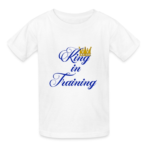 King in Training - Kids' T-Shirt