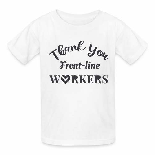 Thank you fronline worker - Kids' T-Shirt