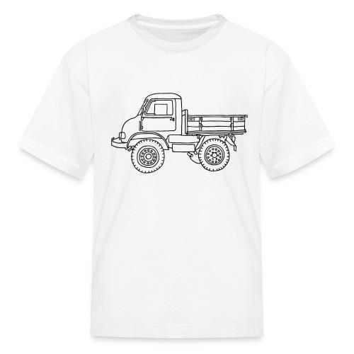 Off-road truck, transporter - Kids' T-Shirt