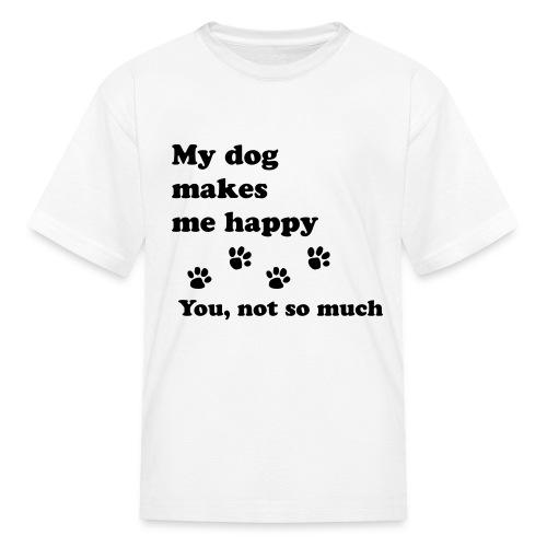 love dog 2 - Kids' T-Shirt
