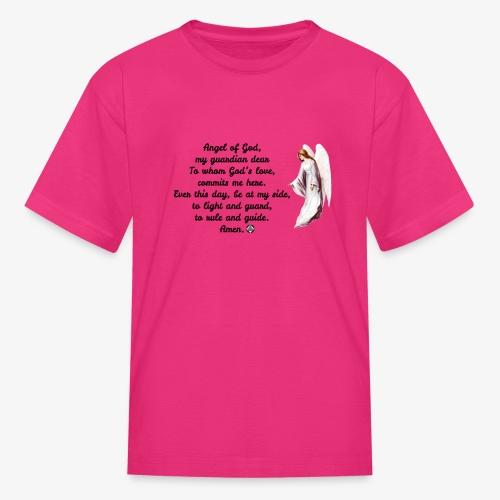 Guardian Angel prayer - Kids' T-Shirt