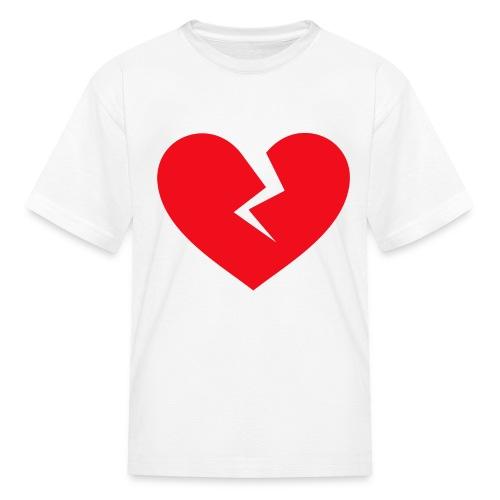 Broken Heart - Kids' T-Shirt