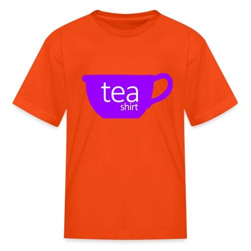 Tea Shirt Simple But Purple - Kids' T-Shirt