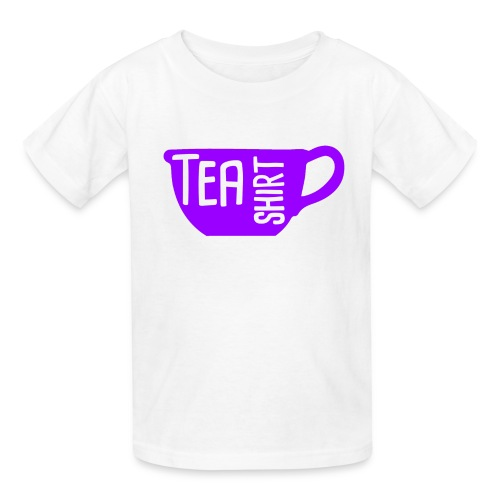 Tea Shirt Purple Power of Tea - Kids' T-Shirt