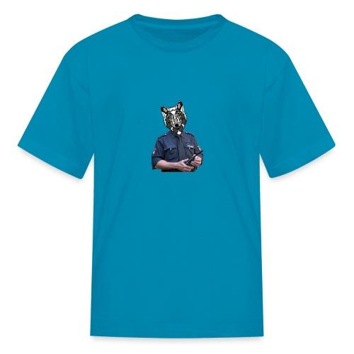 wolf police - Kids' T-Shirt