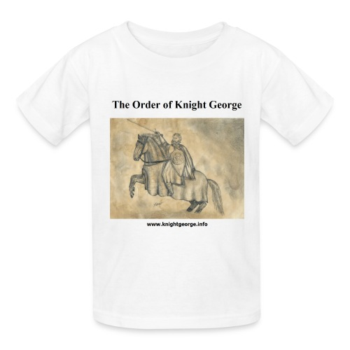 The Order of Knight George Art - Kids' T-Shirt