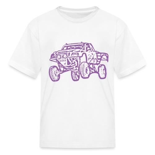 Jump Truck Purple - Kids' T-Shirt