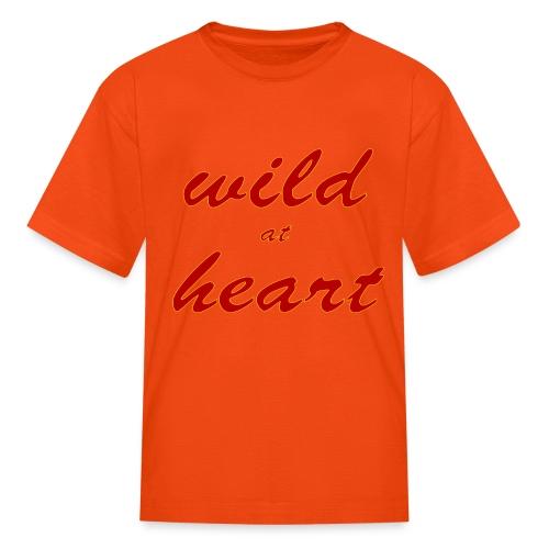 wild at heart - Kids' T-Shirt