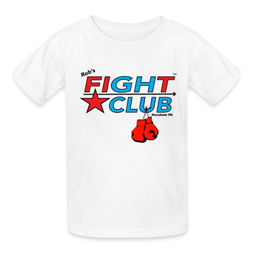 RFC Square Logo w/Gloves - Kids' T-Shirt