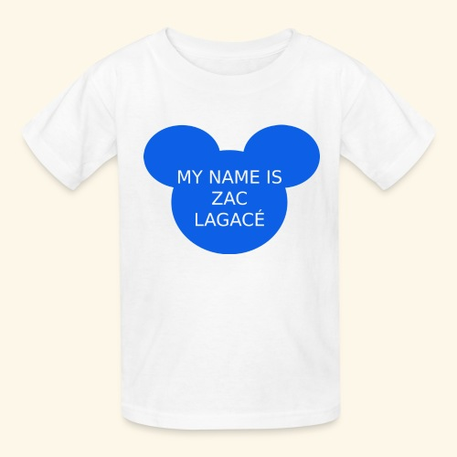 My name is Zac Lagacé - Kids' T-Shirt